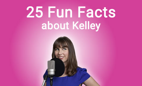 25 fun facts about Kelley Huston